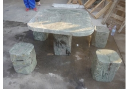 Square Stone Table Top