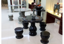 Black Stone Table Top