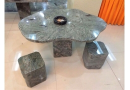 Stone Table Top Patio Furniture