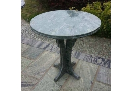 30 Inch Round Stone Table