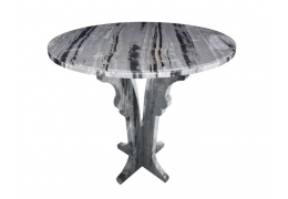 24 Inch Round Stone Table