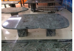 Outdoor Stone Top Coffee Table