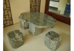 Stone Table Top Outdoor Furniture
