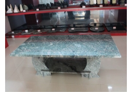 Stone Top Coffee Table with