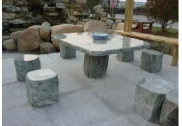 Stone Table Top Patio