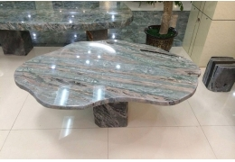 Stone Top Table for Outdoor
