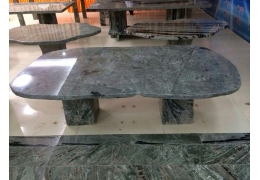 stone top outdoor coffee table