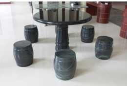 Small Stone Top Table